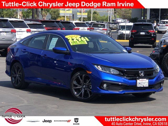 2019 Honda Civic Sedan Sport Irvine CA