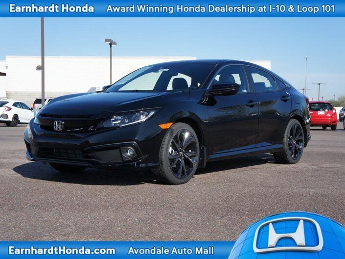 2019 Honda Civic Sedan Sport Manual Avondale AZ