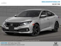 Honda Civic Sedan Sport Manual 2019