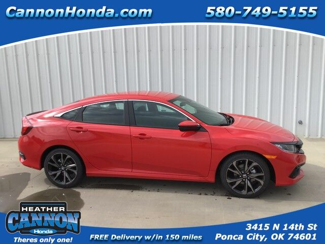 2019 Honda Civic Sedan Sport Ponca City OK
