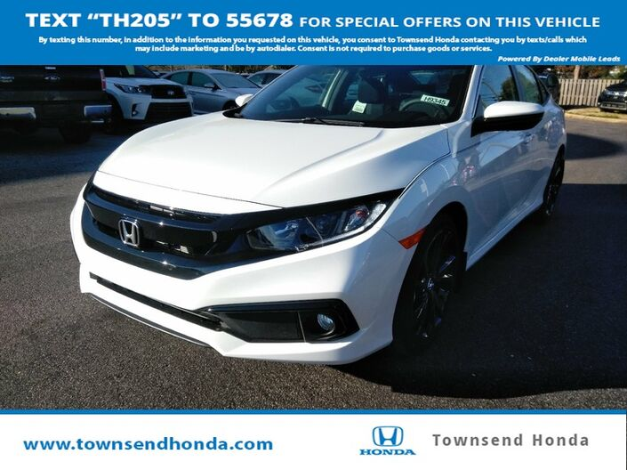 2019 Honda Civic Sedan Sport Tuscaloosa AL