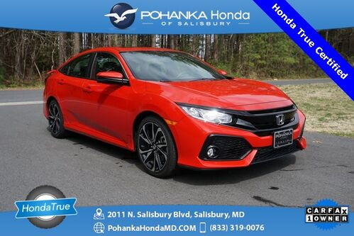 2019_Honda_Civic_Si ** Honda True Certified 7 Year / 100,000  **_ Salisbury MD