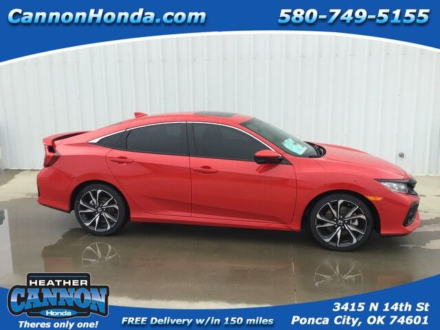 2019 Honda Civic Si Sedan  Ponca City OK