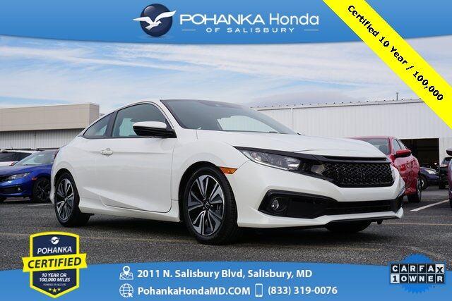 2019 Honda Civic Sport ** 6-SPD ** Pohanka Certified 10 Year / 100,000  * Salisbury MD