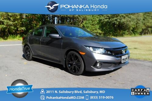 2019_Honda_Civic_Sport ** Honda True Certified 7 Year / 100,000  **_ Salisbury MD