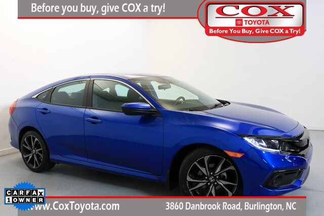 2019 Honda Civic Sport Burlington NC