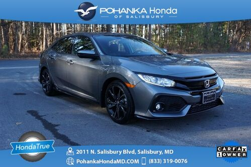 2019_Honda_Civic_Sport Hatchback ** Honda True Certified 7 Year / 100/000_ Salisbury MD