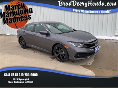 2019 Honda Civic Sport West Burlington IA
