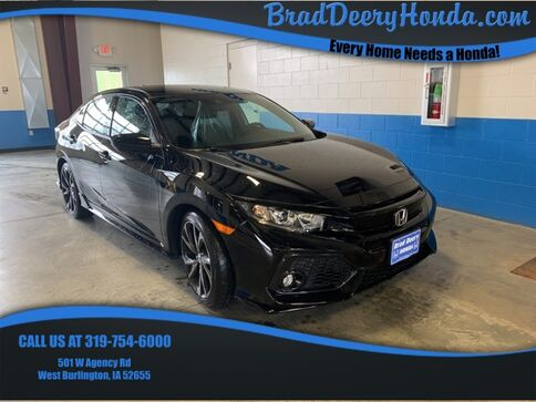 2019_Honda_Civic_Sport_ West Burlington IA