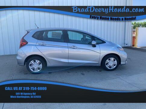 2019_Honda_Fit_LX_ West Burlington IA