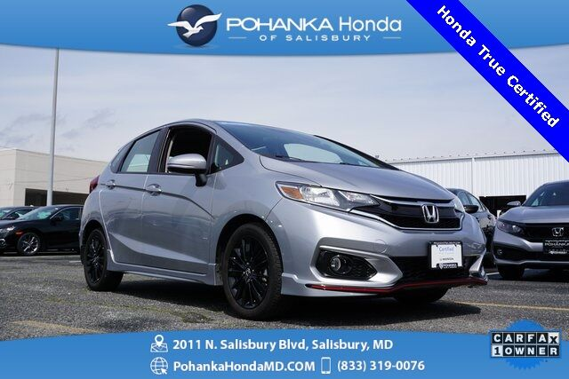 2019 Honda Fit Sport ** Honda True Certified 7 Year / 100,000  ** Salisbury MD