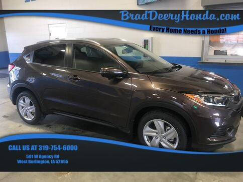 2019_Honda_HR-V_EX-L AWD_ West Burlington IA