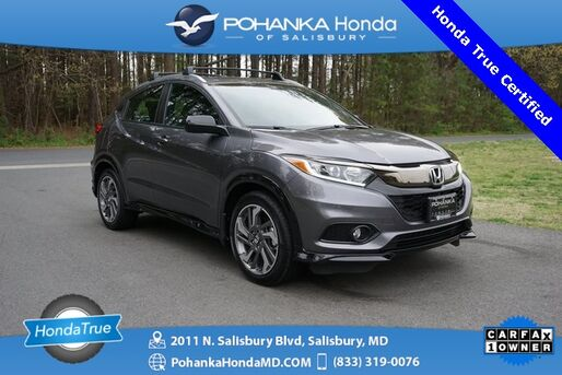 2019_Honda_HR-V_Sport AWD ** Honda True Certified 7 Year / 100,000  **_ Salisbury MD