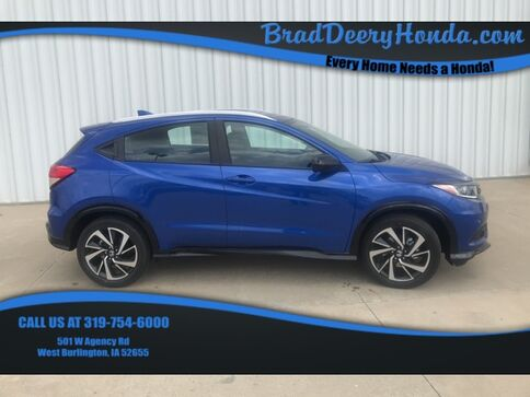 2019_Honda_HR-V_Sport_ West Burlington IA
