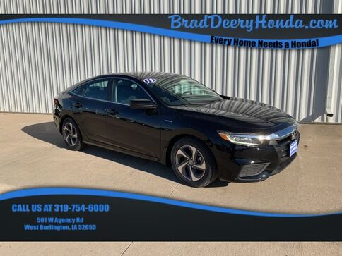 2019_Honda_Insight_EX_ West Burlington IA
