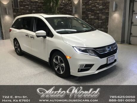 2019 Honda ODYSSEY EX-L RESERVE  Hays KS