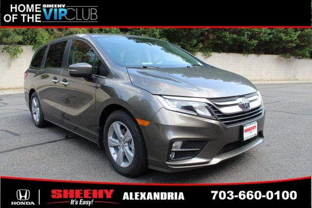 2019 Honda Odyssey EX-L w/Navigation and Rear Entertainment System 4D Passenger Van