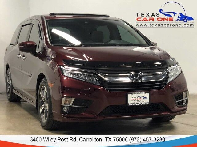 2019 Honda Odyssey TOURING BLIND SPOT LANE DEPARTURE FORWARD COLLISION WARNING NAVI Carrollton TX