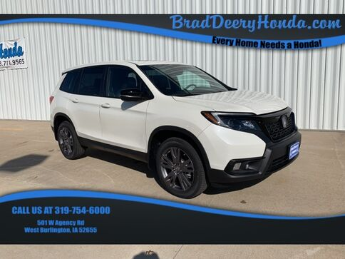 2019_Honda_Passport_EX-L AWD_ West Burlington IA