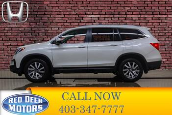 2019_Honda_Pilot_AWD EX-L 8 Passenger Leather Roof Nav_ Red Deer AB