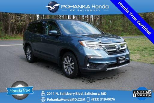 2019_Honda_Pilot_EX ** Honda True Certified 7 Year / 100,000  **_ Salisbury MD