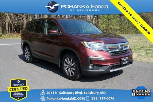 2019_Honda_Pilot_EX AWD ** Pohanka Certified 10 Year / 100, 000 **_ Salisbury MD