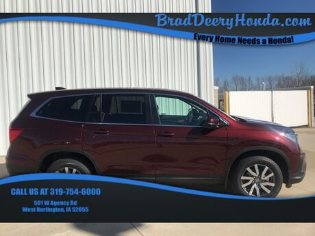 2019 Honda Pilot EX-L West Burlington IA