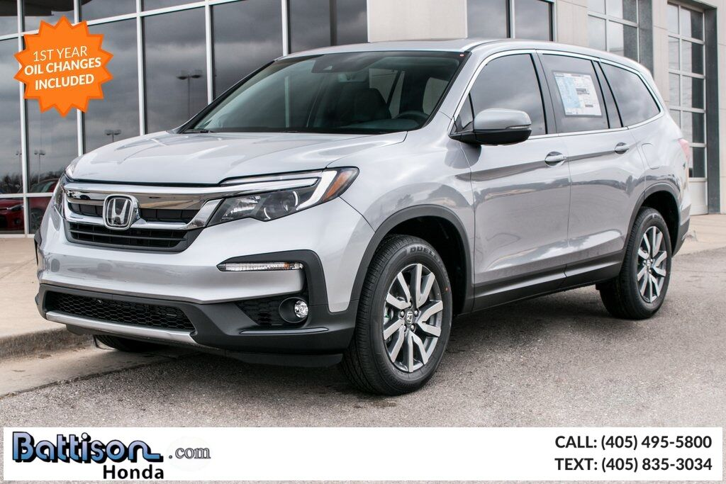 2019_Honda_Pilot_EX-L w/Navigation and Rear Entertainment System_ Oklahoma City OK