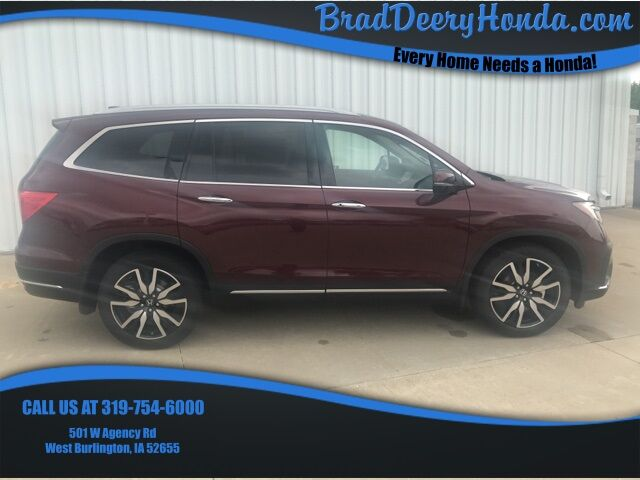 2019 Honda Pilot Touring West Burlington IA