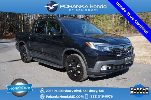 2019_Honda_Ridgeline_Black Edition AWD ** Honda True Certified 7 Year / 100,000  **_ Salisbury MD