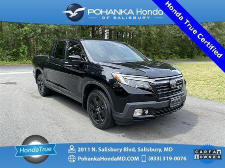 2019_Honda_Ridgeline_Black Edition AWD/NAVI ** Honda True Certified 7 Year/100,000  *_ Salisbury MD