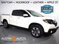 2019_Honda_Ridgeline RTL-T_*NAVIGATION, BACKUP-CAMERA, TOUCH SCREEN, MOONROOF, LEATHER, HEATED SEATS, ALLOY WHEELS, BLUETOOTH, APPLE CARPLAY_ Round Rock TX