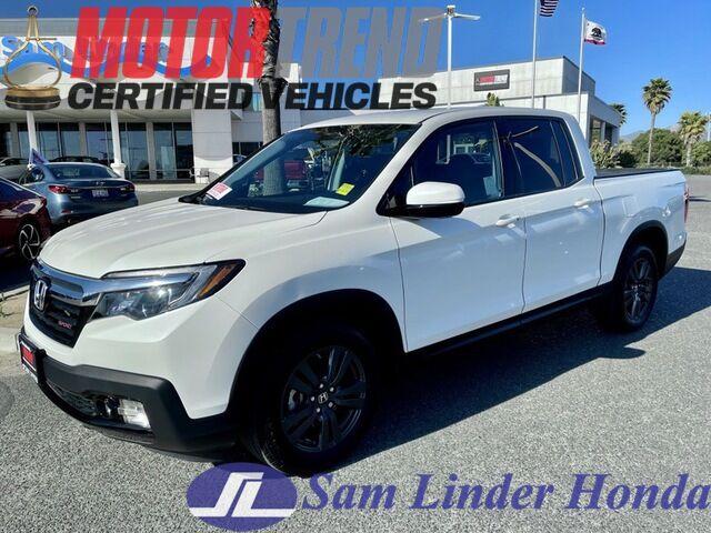 2019 Honda Ridgeline Sport 2WD Salinas CA