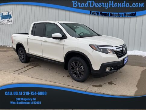 2019_Honda_Ridgeline_Sport_ West Burlington IA