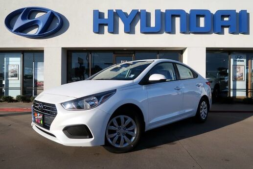 2019 Hyundai Accent 4DR SDN SE AT Wichita Falls TX