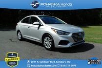 2019 Hyundai Accent SE ** Pohanka Certified 10 Year/100,000 **