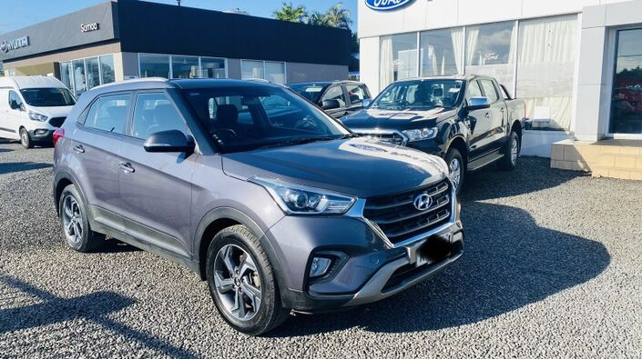 2019 Hyundai CRETA GL 1.6L GASOLINE 2WD 6-SPEED AUTOMATIC TRANSMISSION CROSSOVER Vaitele