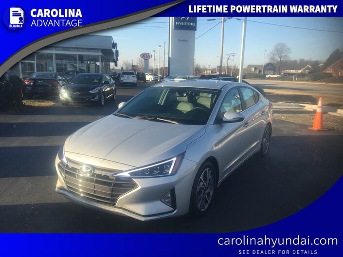 2019 Hyundai Elantra Limited High Point NC