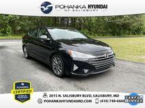 2019 Hyundai Elantra Limited **ONE OWNER**CERTIFIED**