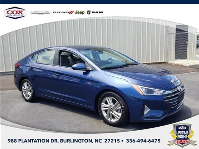2019 Hyundai Elantra Value Edition Sedan Burlington NC