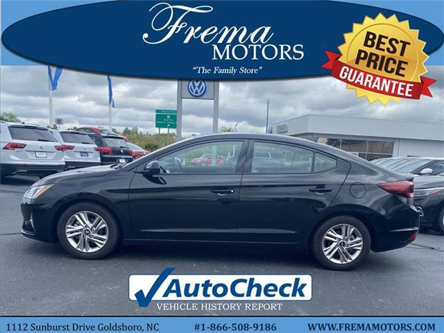 2019 Hyundai Elantra Value Edition Sedan Goldsboro NC