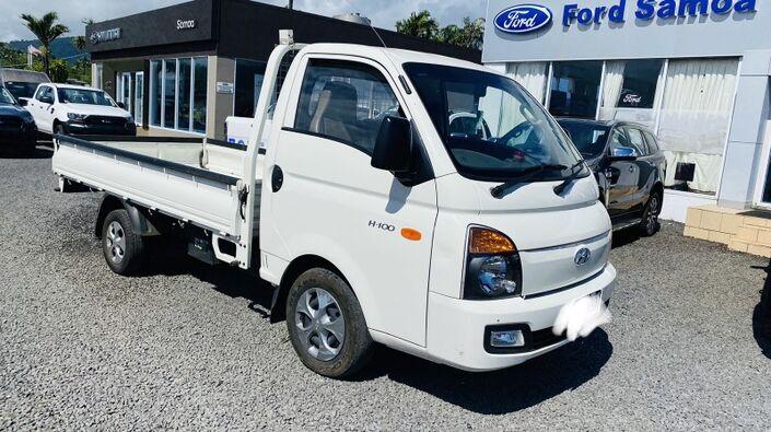 2019 Hyundai H100 FLAT DECK 2.6L DIESEL 4X2 5-SPEED MANUAL TRANSMISSION SC Vaitele