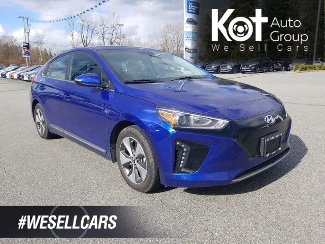 2019 Hyundai IONIQ Electric Preferred Hatchback Kelowna BC
