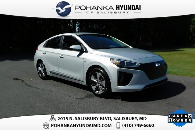 2019 Hyundai Ioniq EV Electric **ONE OWNER**CERTIFIED** Salisbury MD