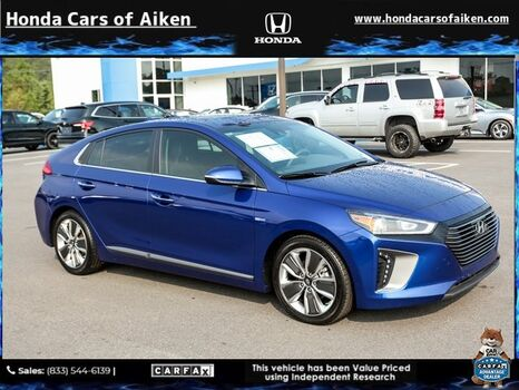 2019_Hyundai_Ioniq Hybrid_Limited_ Aiken SC