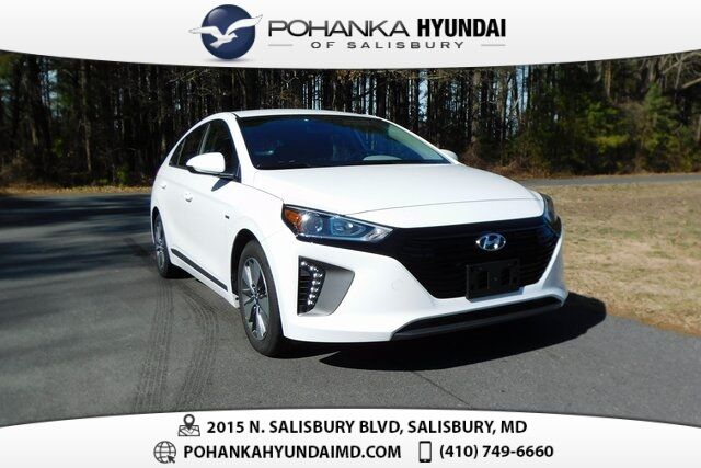 2019 Hyundai Ioniq Plug-In Hybrid Base **ONE OWNER**CERTIFIED** Salisbury MD