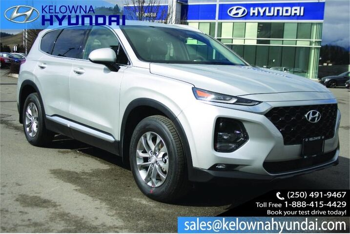 2019 Hyundai Santa Fe Essential w/Safety Package Cargo Tray W/two sets of tires Kelowna BC