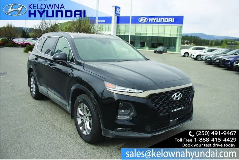 2019 Hyundai Santa Fe Essential w/ W/two sets of tires Backup Cam, Bluetooth, Heated seats and steering wheel Penticton BC