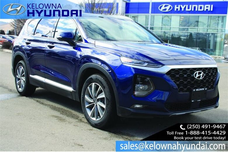 2019 Hyundai Santa Fe Luxury Leather, Sunroof Bluetooth w/ two sets of tires Penticton BC