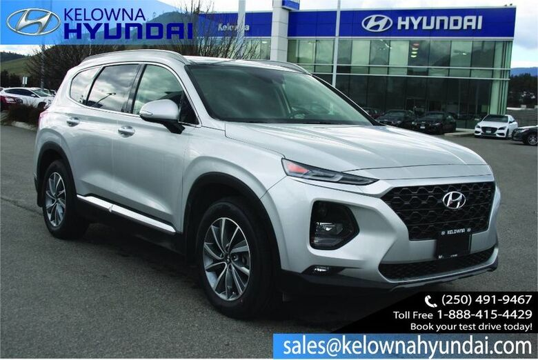 2019 Hyundai Santa Fe Luxury W/Two sets of tires & rims Kelowna BC